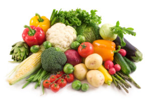 A diet rich in fruit and vegetables will aid conception